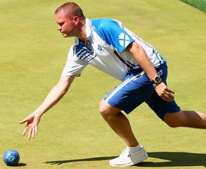 Foster and Anderson lead Scottish success at World Indoor Bowls Championships