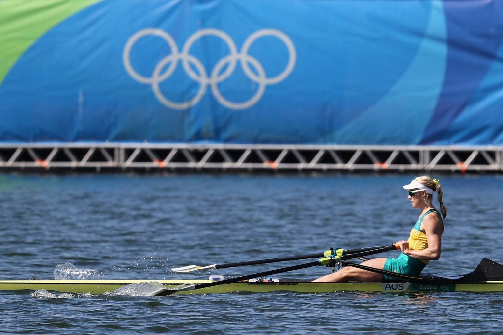 Kim Brennan received three honours at the award ceremony ©Getty Images