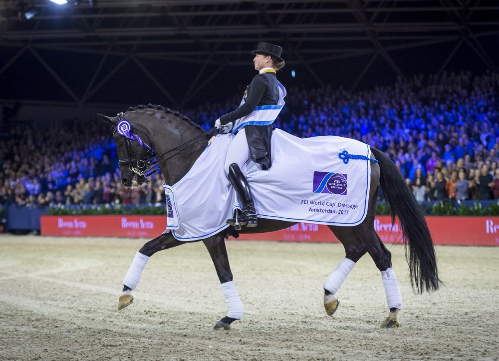 Werth shows worth to continue FEI Dressage World Cup winning streak