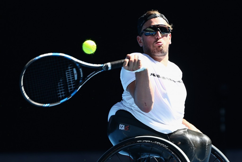 Alcott wins third successive quad singles title at Australian Open