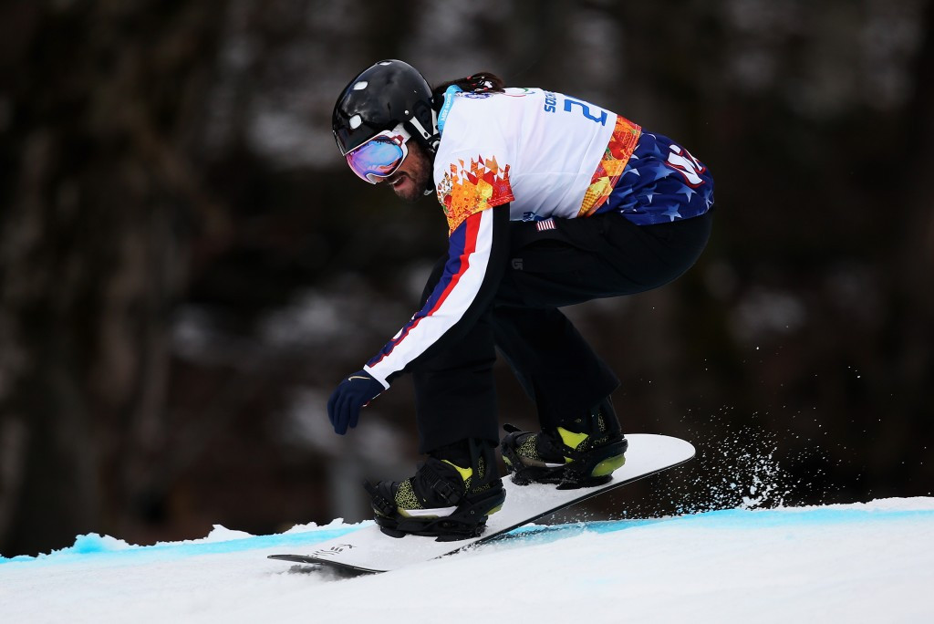 Japan's Narita completes impressive performance at Para Snowboard World Cup