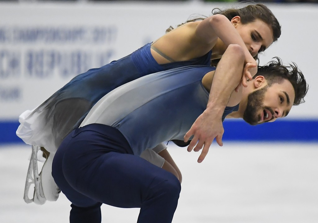France's Gabriella Papadakis and Guillaume Cizeron won the ice dance title ©Getty Images
