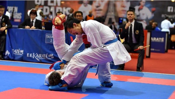The event is set to conclude tomorrow, with finals across all weight categories ©WKF
