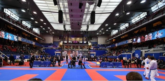 Agier books place in under 68kg final at Paris Karate1 Premier League