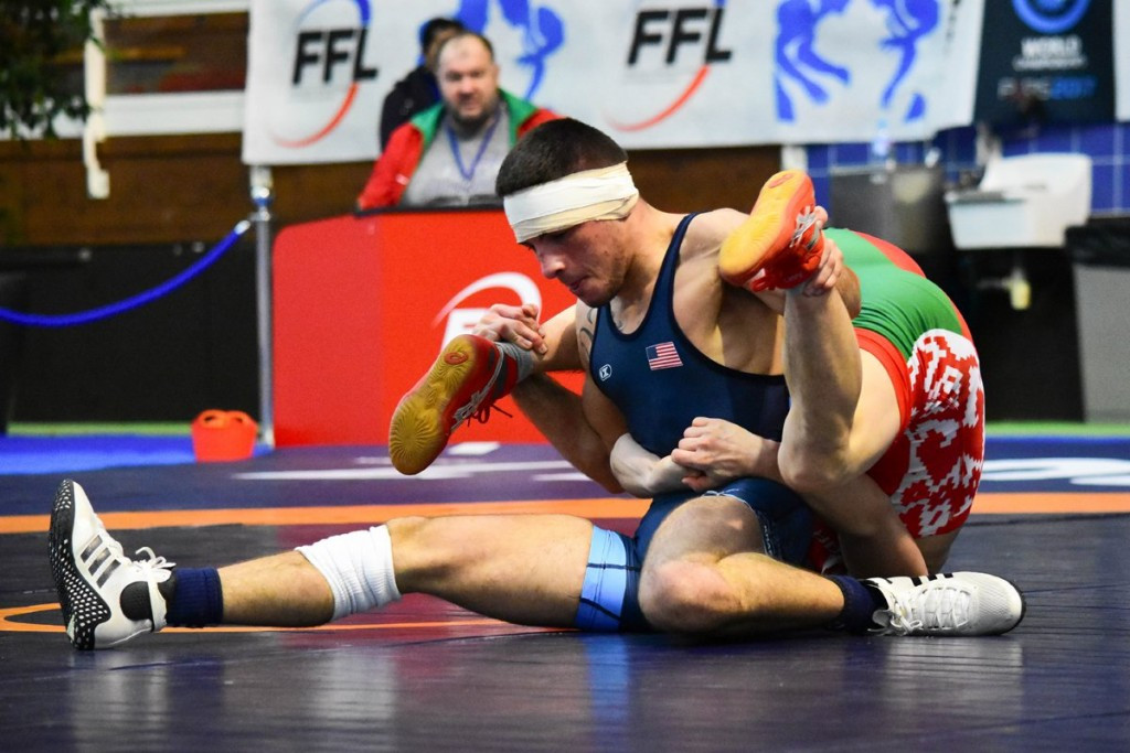 United States claim freestyle wrestling treble at Paris International