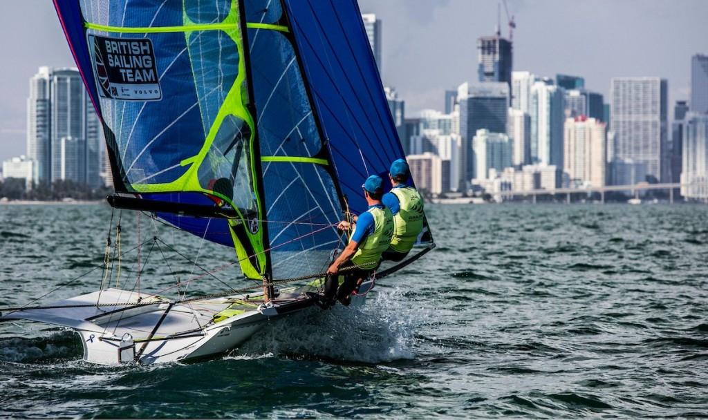 Fletcher-Scott and Bithell taste success at Sailing World Cup