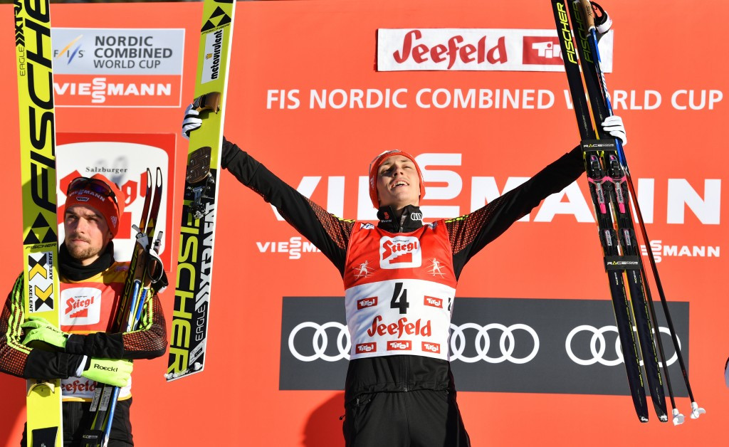 Frenzel triumphs at Seefeld Triple for fourth straight year