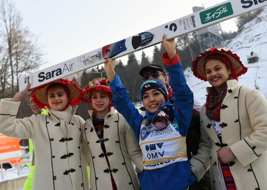 Takanashi reaches half century of Ski Jumping World Cup wins