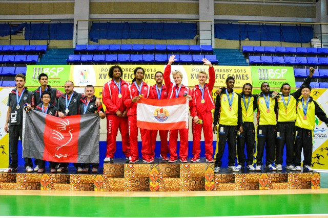 Tahiti were also dominant in the table tennis as both their men's and women's teams secured victories over New Caledonia to ensure they took home double gold