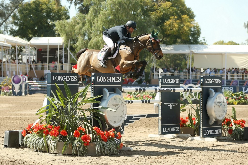 Mexico's Pasquel wins home leg of FEI World Cup Jumping North American League