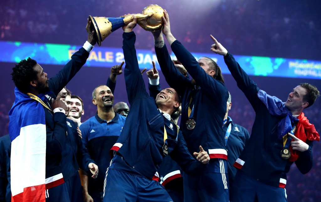 Hosts France defend World Handball Championship title