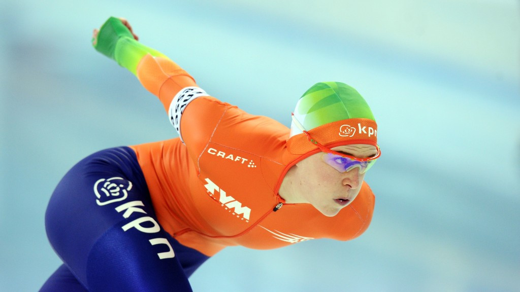 Ireen Wüst gained a superb victory over her arch-rival today at the ISU Speed Skating World Cup ©Getty Images