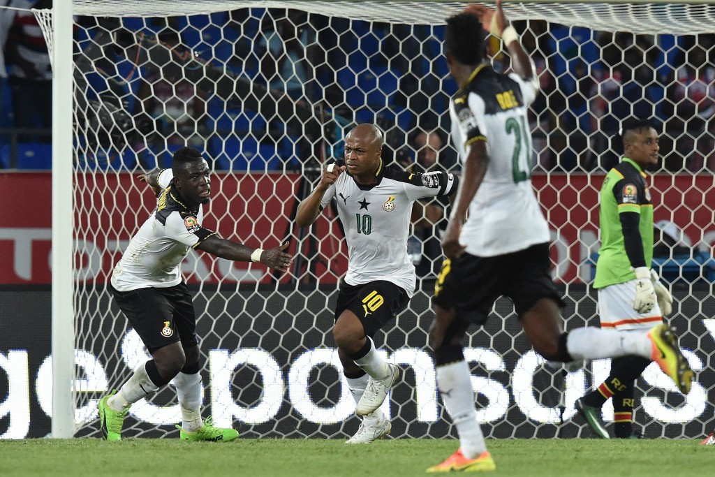 Ayews see Ghana through to Africa Cup of Nations semi-finals