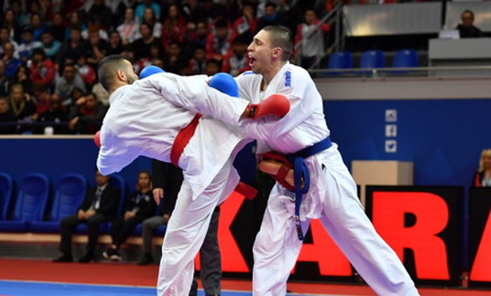 Athletes competing in Paris were bidding to begin the Karate1 Premier League season by claiming gold ©WKF