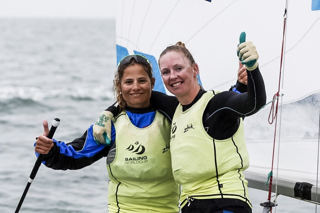 Dutch duo seal women's 470 victory at Miami Sailing World Cup
