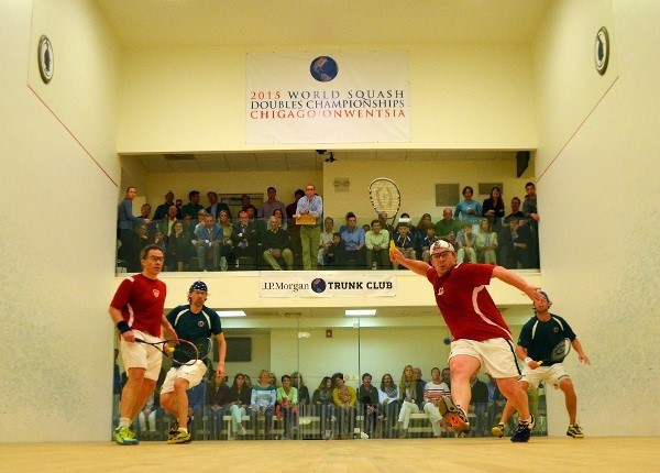 Hardball squash is a different variant of the sport ©WSF
