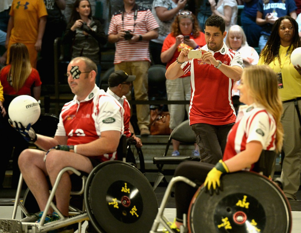 Wheelchair rugby is a popular Paralympic sport in Denmark ©Getty Images
