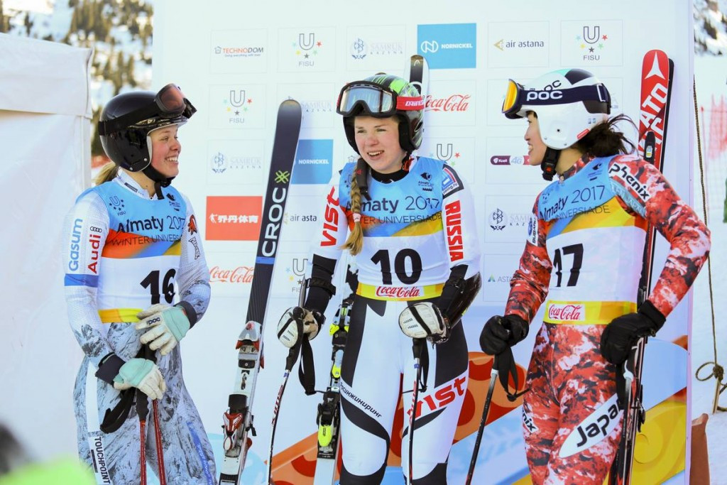 Russian Alpine skier claims first gold medal of 2017 Winter Universiade