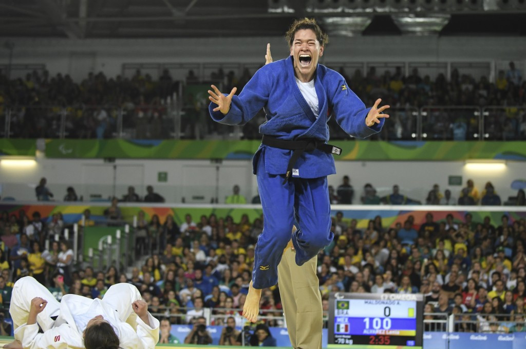 Lenia Ruvalcaba heads the women's under-70kg rankings after her Rio 2016 gold ©Getty Images