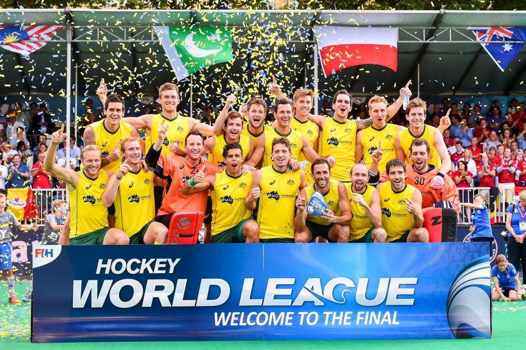 Australia claim last-gasp final victory over hosts Belgium at Hockey World League Semi-Final