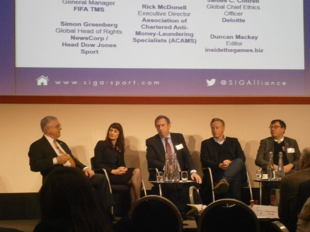 Financial integrity in sport was the focus of one of the Forum's panel discussions ©ITG