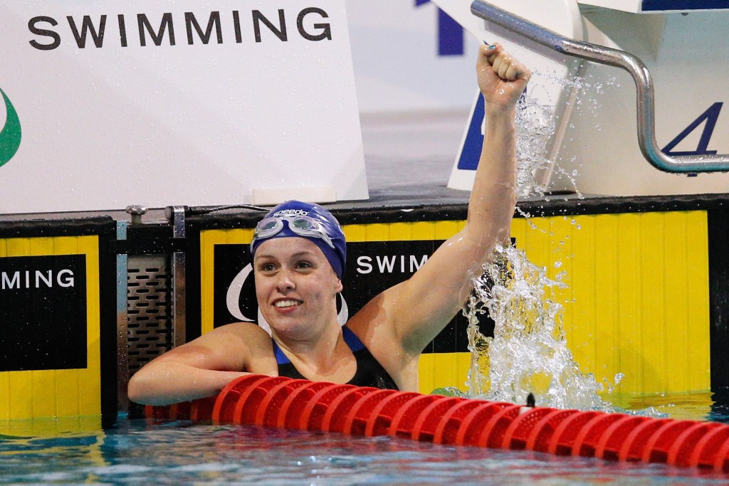 Para-swimmer Amy Marren retired at the age of 21, partially due to ambiguity over disability classification ©Getty Images