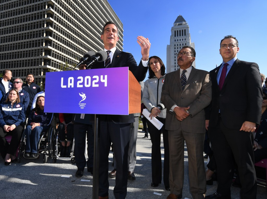 Exclusive: Mayor promises Los Angeles will support IOC if it changes bid process