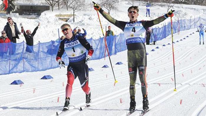 Janosch Brugger won German gold on day one in Utah ©US Ski Team/Tom Kelly
