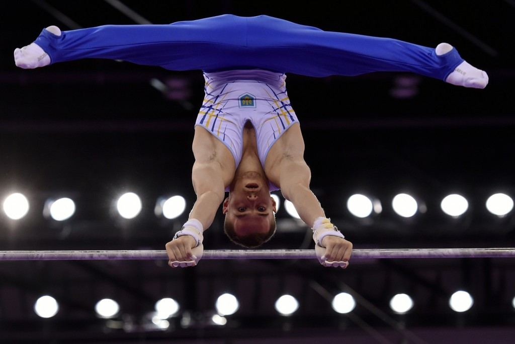 Verniaiev's golden touch continues with Gwangju 2015 men's individual all-round gymnastics victory