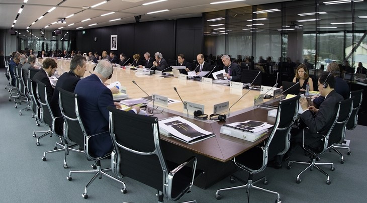 FIBA have held their first Board meeting of the year in Mies ©FIBA