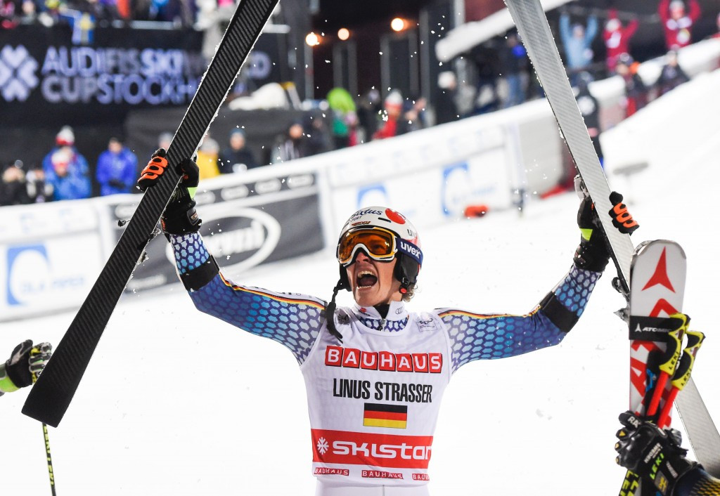 Late replacement Strasser wins Stockholm City Event