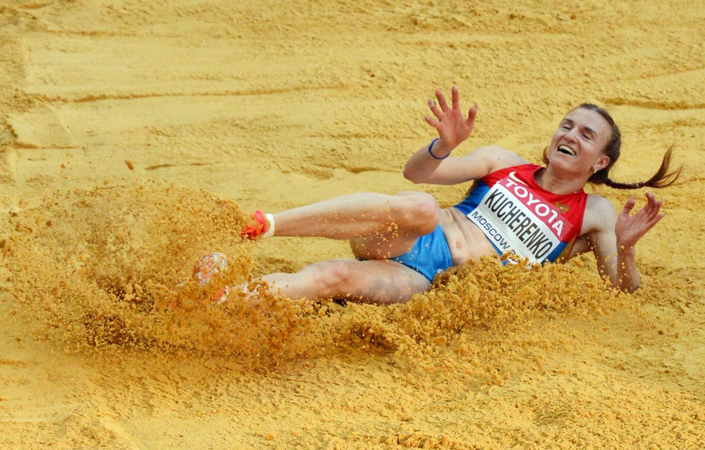 Long jumper Kucherenko banned for two years, reports claim