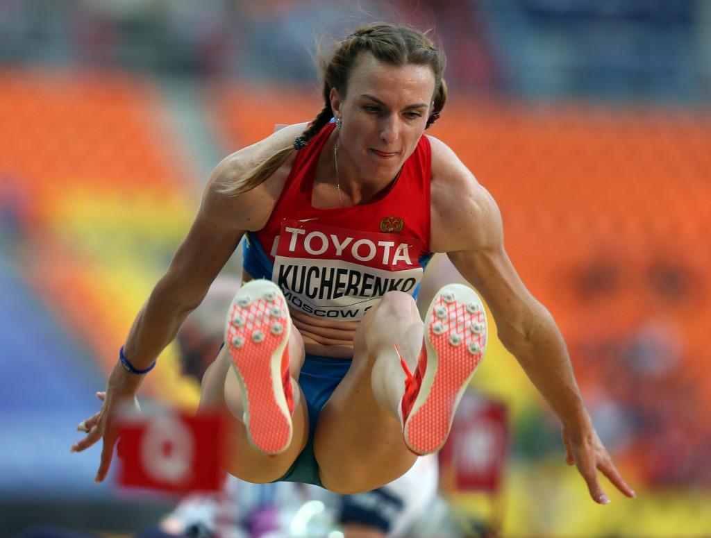 Olga Kucherenko won World Championship silver in Daegu in 2011 ©Getty Images