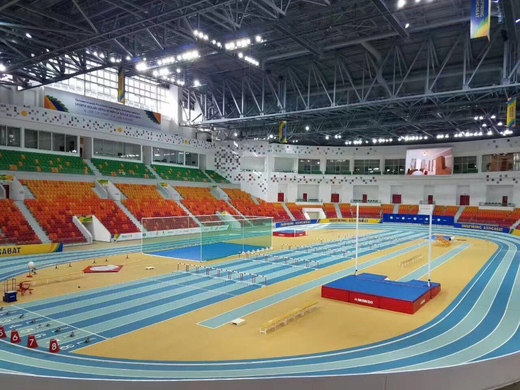 Representatives from five Asian NOCs were shown around venues which will be used at the 2017 Indoor and Martial Arts Games in Ashgabat ©OCA