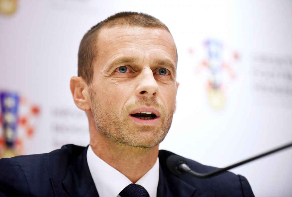 UEFA President Aleksander Čeferin has demanded the organisation be given 16 places at the expanded World Cup ©Getty Images