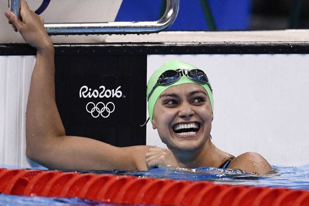 Kuwaiti athletes such as Faye Husain had to compete under the Olympic flag at Rio 2016 ©Getty Images