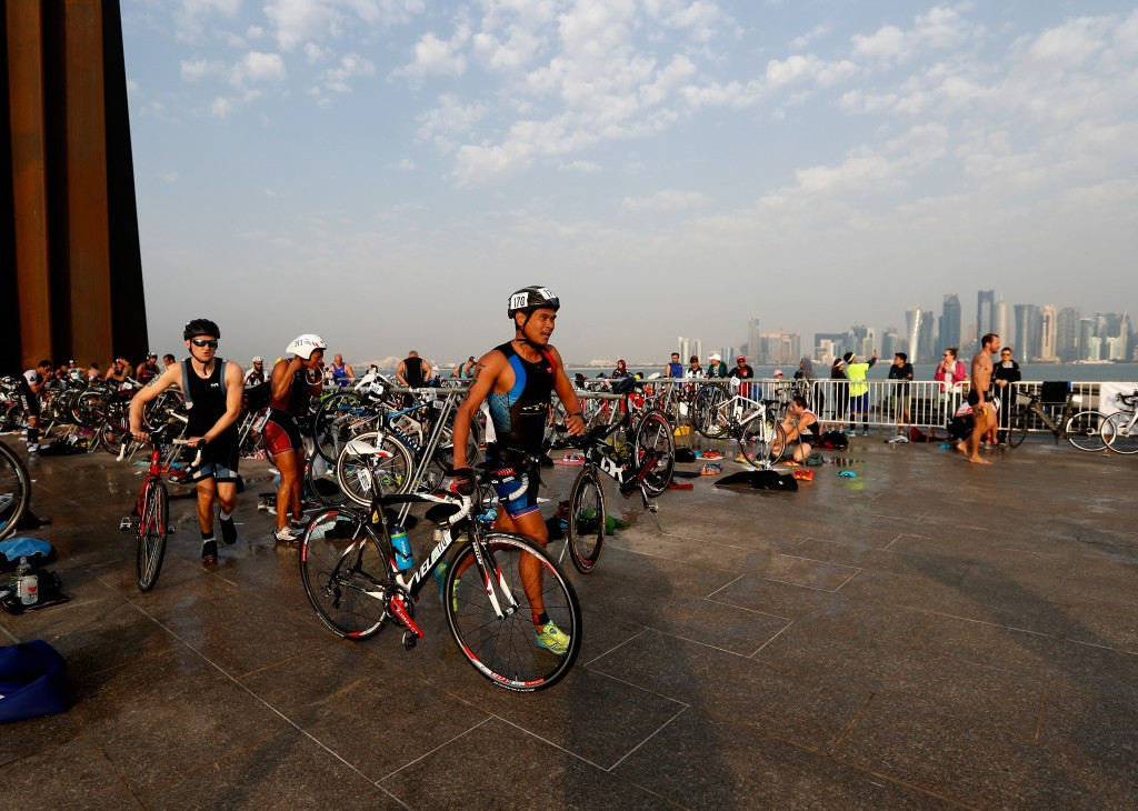 The ITU and IRONMAN are confident the deal will develop the sport of triathlon ©Getty Images