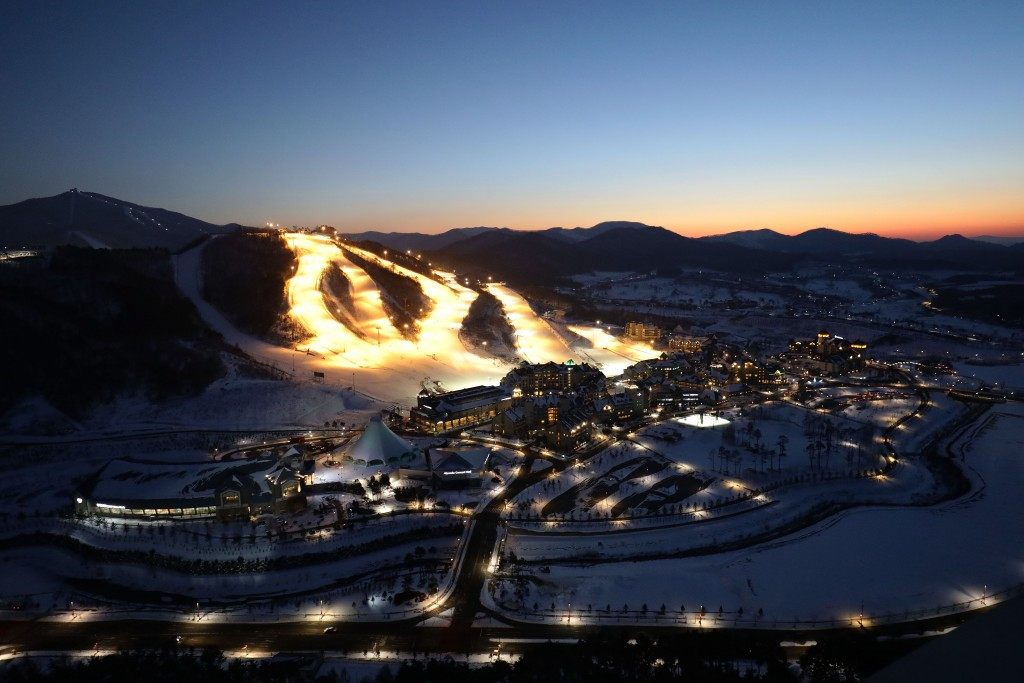 Alpensia will host two key Pyeongchang 2018 test events from tomorrow ©Getty Images