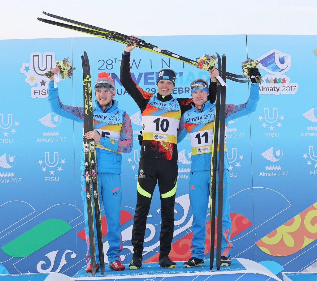 Home favourite Lyuft breaks Russia's cross-country skiing dominance at 2017 Winter Universiade