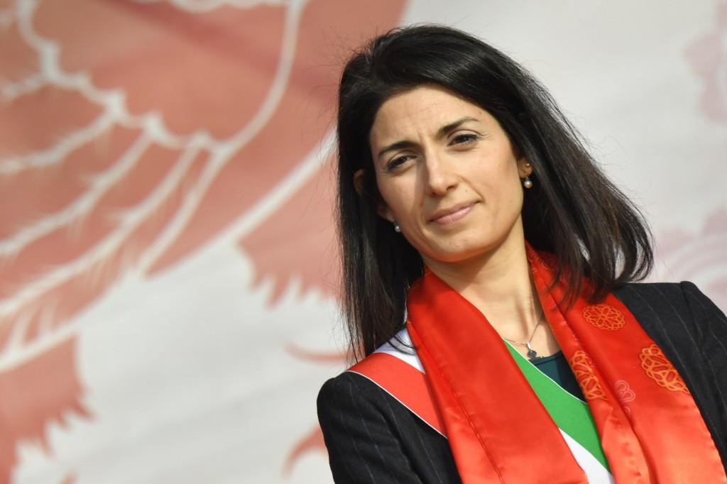 Rome Mayor Virginia Raggi refused to back the 2024 bid ©Getty Images