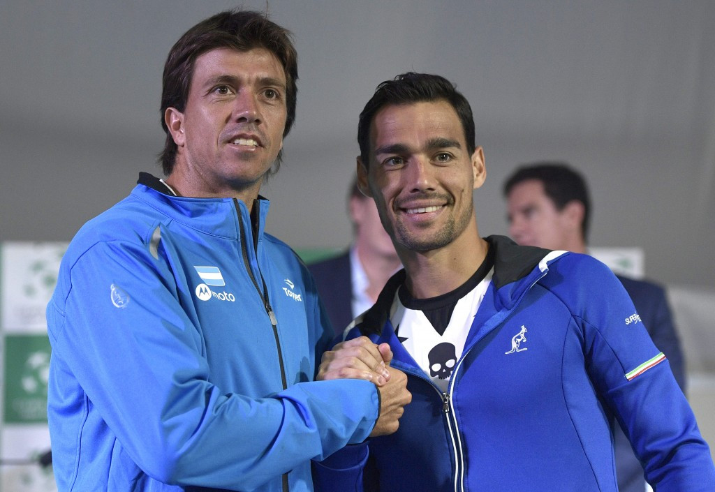 Argentina to start Davis Cup defence against Italy