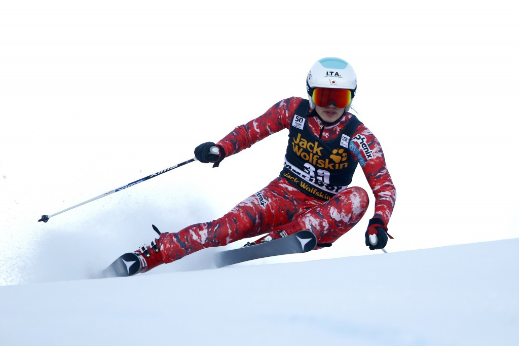 Japan's Ando finishes strongly to claim women's giant slalom Winter Universiade title