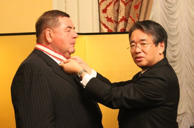 FIAS President receives Order of the Rising Sun