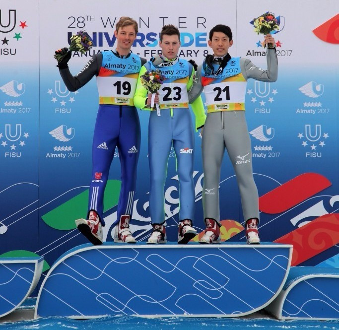 Poland's Cieslar claims Nordic combined mass start gold