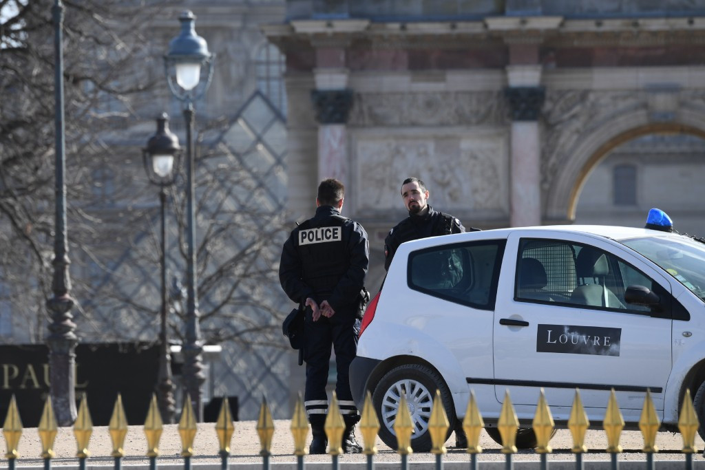 An incident at the Louvre this morning heightened the security challenge for Paris 2024 ©Getty Images
