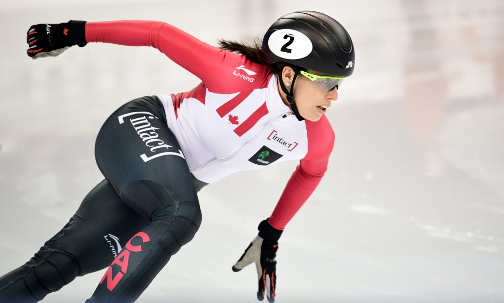 Canadians impress at ISU Short Track World Cup qualifying in Dresden