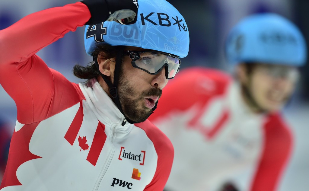 Charles Hamelin made a strong start to men's competitions ©Getty Images