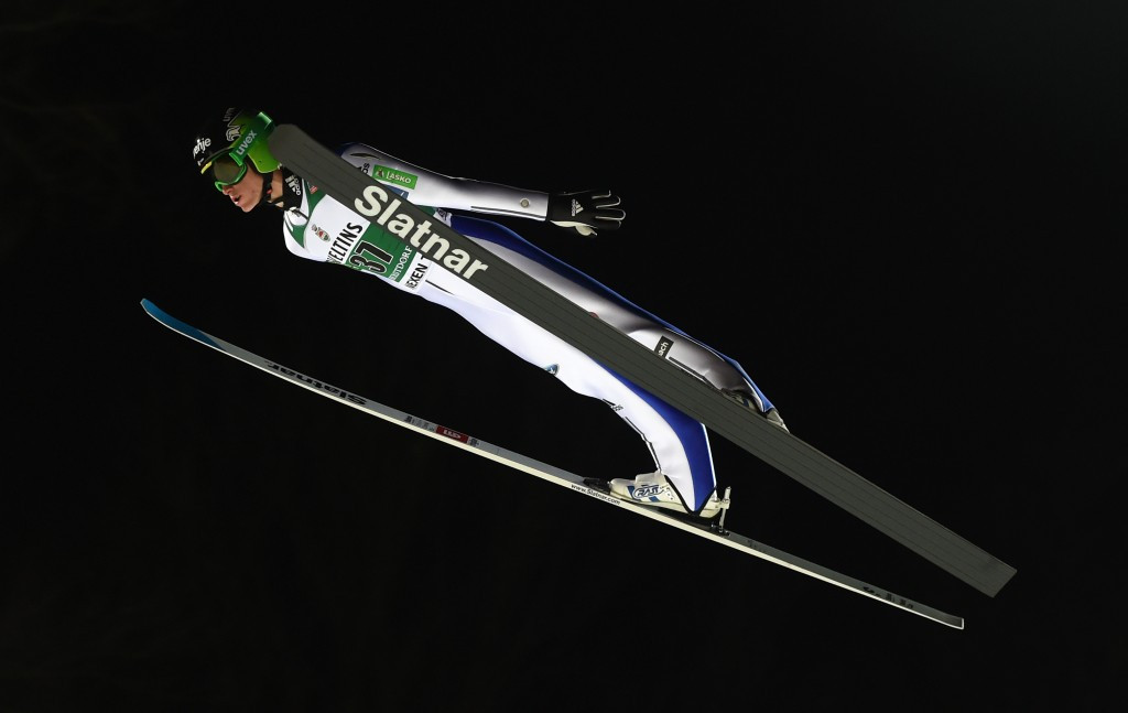 Ski Jumping World Cup holder Prevc tops qualification round