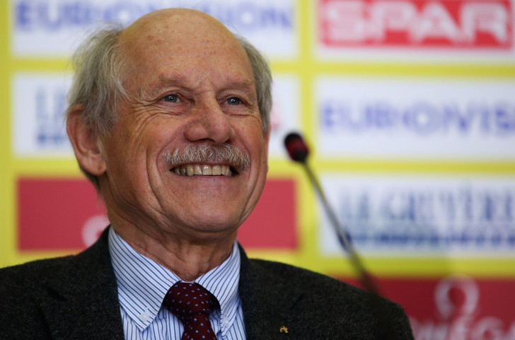Hansjorg Wirz has served as European Athletics' President for 16 years