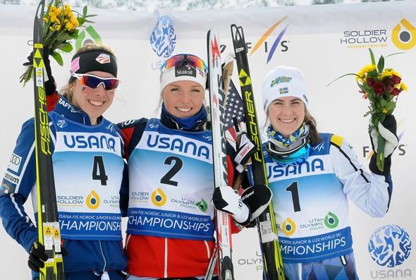 Norway's Johansen claims women's skiathlon crown at FIS Nordic Junior World Championships